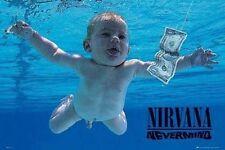 Nirvana Kurt Cobain nevermind Large maxi Poster 61 x 91.5cm lp1417 520