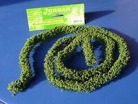 "Jordan Hecke dunkelgrün 100 cm lang für H0 ""wunderschön""   13F"
