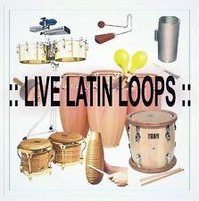 REAL LIVE LATIN LOOPS (merengue, salsa, bachata, and more) (5,449 wave files)