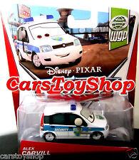 Alex Carvill - Disney Pixar Cars 2 WGP Security Toy Diecast White Van Mattel