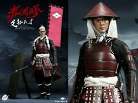 PopToys 1/6 Scale Ashigaru-Spear Deluxe Version Japanese Foot Soldier W04B USA