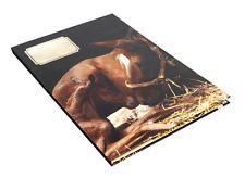 """Schreibmappe Briefpapiermappe DIN A4 Briefumschläge """"Stallgeflüster"""" I Pferde"""