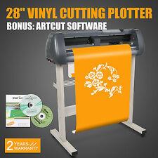 """VINYL CUTTER 28"""" SIGN CUTTING PLOTTER W/ ARTCUT SOFTWARE - DESIGN/CUT"""