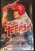 2018 Topps Baseball Series 1 Factory Sealed Hobby Box