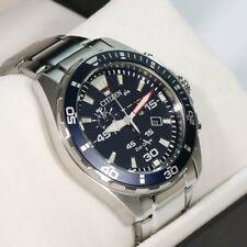 Citizen Chronograph Wristwatch Eco-Drive Solar Men's Watch AT2431-87L