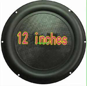 """1pcs 12""""inch bass radiator passive Speaker Bass diaphragm basin strengthen bass"""