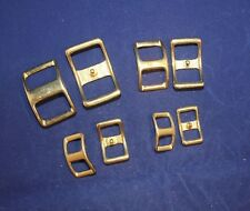 Conway Buckle Assortment Pack - Solid Brass - 16 pieces (F143)