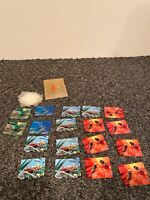 18 Holographic Bhutan Airmail Collectible Stamps Insects