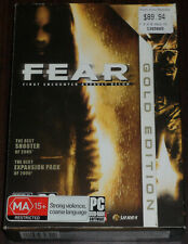 PC DVD. FEAR Gold (First Encounter Assault Recon)