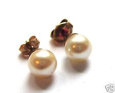 Perlenohrstecker Goldohrringe Perle 585er Gold Perlenohrringe Ohrstecker