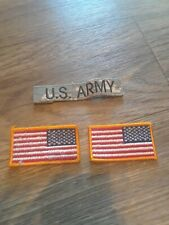 THREE US ARMY MILITARY PATCHES CC VINTAGE