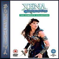 XENA WARRIOR PRINCESS -  COMPLETE COLLECTION SERIES 1 - 6 **BRAND NEW BOXSET