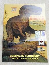 WILLIAM STOUT 2 TRADING CARDS PROMO POSTER - COMIC IMAGES 1993