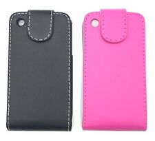 Black Flip Down Case Protector Cover For Apple iPhone 3G 3GS
