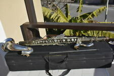 MALERNE PARIS Bb BASS CLARINET, Eb key..., READY TO PLAY,GREAT!/clarinetto basso