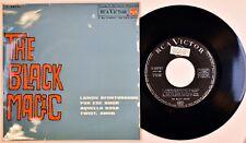 THE BLACK MAGIC - N.MINT *EP PROMO* LABIOS AFORTUNADOS Beatles Cover Spain 1964