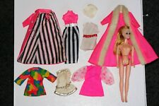 "Topper Dawn lot 1 doll outfits vintage TLC 6"" Pippa"