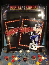 Smash TV Arcade Conversion Side Art Artwork T.V. Overlay Decal Sticker CPO