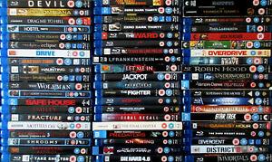 Blu-rays @ £1.50 - £2.50 each - family/comedy