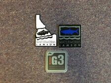 3 Fly Fishing Outdoor Awesome Stickers #3A Lamson Waterworks Simms G3