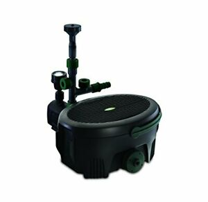 Inpond 6-in-1 9000, 49.5w Pond Pump and Filter with UV Clarifier, LED