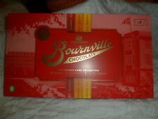 BOURNVILLE DARK CHOCOLATE CHRISTMAS COLLECTION SELECTION BOX 4X BARS