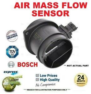 BOSCH AIR MASS FLOW SENSOR for VW GOLF IV 1.8 T 1997-2005