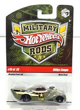 Hot Wheels Military Rods Willys Coupe 15 of 26 Metal Body