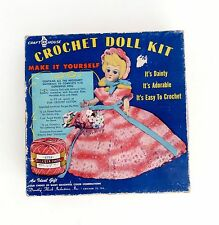 Vintage Crochet Doll Kit Craft House Dorothy Flicek Industries