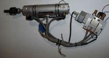 SMC CDU25-10D Pneumatic Cylinder W/ JA20-8-125 Floating Joint, SY3120-5LOZ-N3