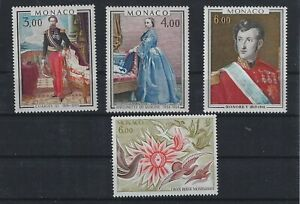 MONACO Royalty Paintings, Red Cross  lot 8 MNH**