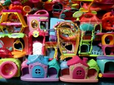 LITTLEST PET SHOP LOT of 3 RANDOM Different Large Playset Playsets GREAT DEAL!