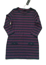 MARKS AND SPENCER LONG STRIPED JERSY TOP SIZE 12/40