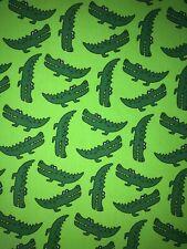 Coton Jersey crocodile tissu. Children's Knit tissu extensible. legging, t shirts