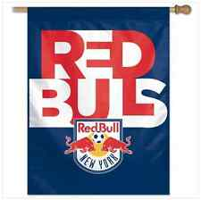 "New York Red Bulls Vertical Flag 27"" x 37"" Mls"