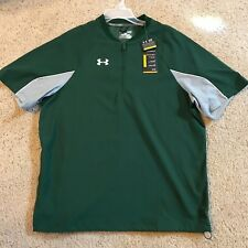 Under Armour UA Mens Contender Cage Pullover SS Jacket 1232952  Green Small  $55