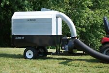 Trac Vac 580 Pro Lawn Mower Bagger Vacuum Pull Behind 6.5 hp Briggs Leaf Trailer