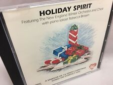 Holiday Spirit CD ~ Sampler of 16 Christmas Songs ~ New England Winter Orchestra