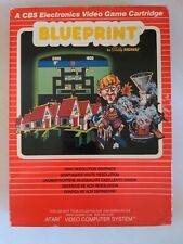 Blueprint CBS By Bally Midway For Atari 2600