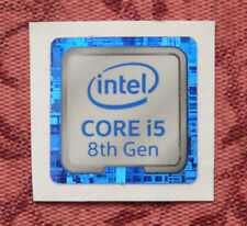 Intel Core i5 8th Generation Sticker 18 x 18mm Case Badge
