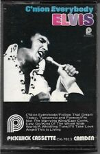 Elvis Presley C'mon Everybody (Cassette) Pickwick