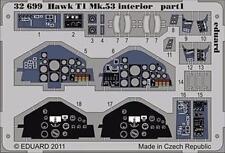eduard 32699 1/32 Aircraft- Hawk T1 Mk 53 Interior Part 1 & 2 for Revell