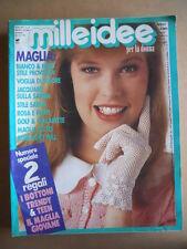 MILLEIDEE n°4 1988 - rivista di moda e lavori femminili  [G582]