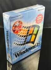 (NEW, SEALED) Microsoft Windows 98 Second Edition Boxed