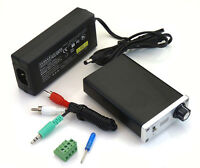 Indeed TDA7492s Cute Class D 50WX2 Mini Amplifier + 24V2A Power Adapter Silver