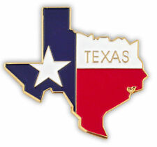 NEW Classy TEXAS TX Flag Lapel Tie Pin 1 1/8 inch wide cedar hill park red rock