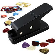 Pickmaster Plectrum Punch Maker Cutter - Design & Make Guitar Pick Plectrums HOT