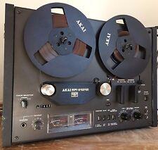 AKAI GX-4000D Reel-to-Reel Vintage Tape Deck Black Edition