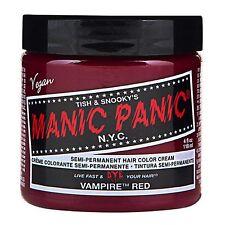 MANIC PANIC Classic Cream Vampire Red™  Semi-Permanent 4 oz Vegan Hair Dye.