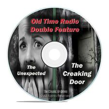 THE CREAKING DOOR & THE UNEXPECTED, 303 shows, FULL SET, Old Time Radio DVD F73